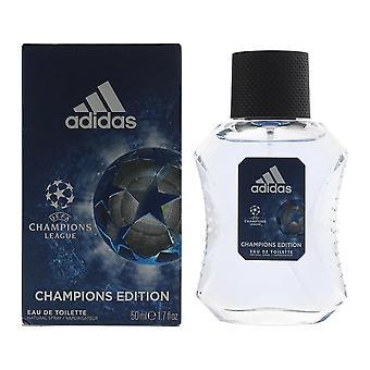 Adidas UEFA Champions League Champions Edition Eau de Toilette 50ml Spray