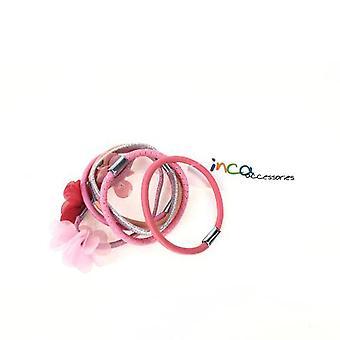 Inca Elásticos #rosa 6 Pz Unisex