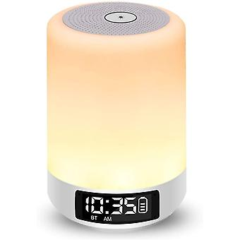 Aisuo Bedside Lamp, Touch Control Night Light with Bluetooth 4.0 HiFi Speaker