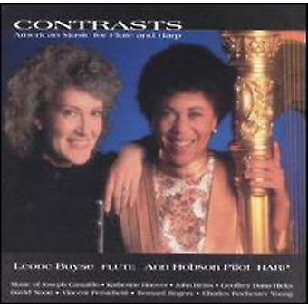 Buyse/Pilot - Contrasts: American Music for Flute and Harp [CD] USA import