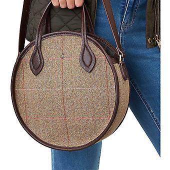 Joules Damen Adeline Mini Runde Tweed Mode Handtasche