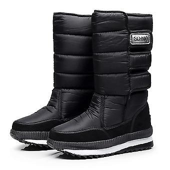 New Women Snow Boots Platform Winter Thick Plush Waterproof Non-slip Fashion