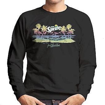 Sprite Beach Gradient Men's Sweatshirt
