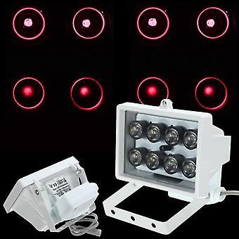 8LED 12V Lampa noktowizyjna IR Illuminator Światło podczerwone do kamery bezpieczeństwa