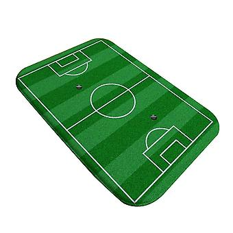 Non-slip Entrance Door Mat, Bedroom World Cup Football Field Ground Mat