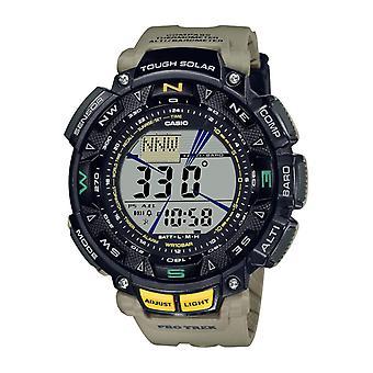 Herrklocka Casio Prg-240-5er - Beige R sinus Armband