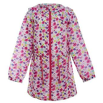 Girls Printed Rain Mac