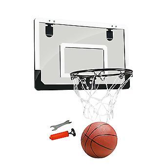 Inomhus Mini Basket Backboard Hoop Kit Dörr vägg monterad barn leksak hängande set