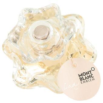 Lady Emblem Eau De Parfum Spray (testare) av Mont Blanc 2.5 oz Eau De Parfum Spray