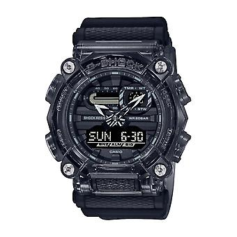 Men's watch CASIO GA-900SKE-8AER - Bracelet R sine Blanc