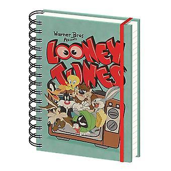 Looney Tunes Retro TV A5 Wiro Notebook