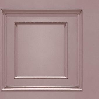 Oliana Pink Panel Wallpaper