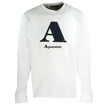 """Aquascutum &A"""" Bluza z logo White"""