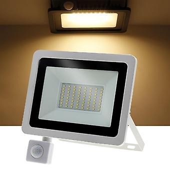 Pir Sensor, Led Spotlight- Switch Led Floodlight For Doorway, Garage, Street