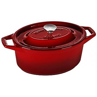 kasserolle Cast au Four 29 cm cast iron red