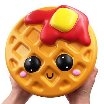 Carino Jumbo Waffle Squishy Giocattoli per bambini