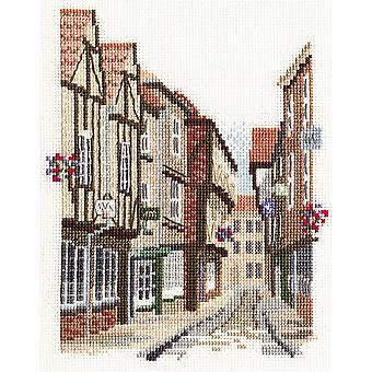 Derwentwater Designs Shambles, York (14DD403) Cross Stitch Kit-sarja- kirjoittanut Bothy Threads