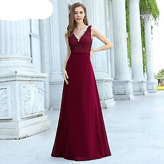 Evening Dresses V Neck Formal Dress Ever-pretty Wedding Party Gowns