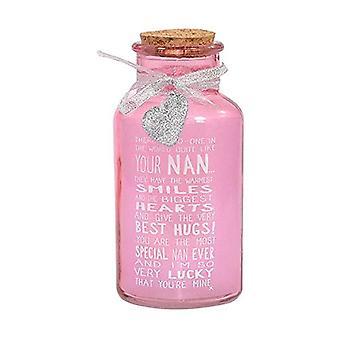 Messages of Love Light Up Nan Jar