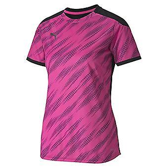 Puma Ftblnxt Graphic Shirt W Damen T-Shirt, Damen, T-Shirt, 656857, Puma - Kurzarm T-Shirt, Farbe: Schwarz/Blau, XL