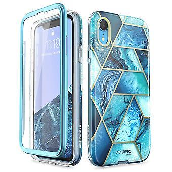 iPhone XR Cosmo Designer -kotelo (Ocean Blue)