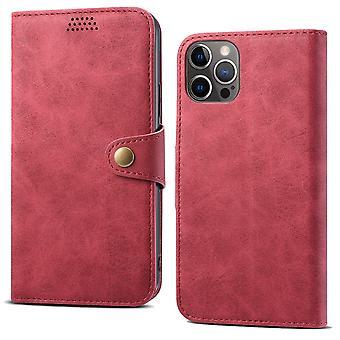 محفظة حقيبة جلدية فتحة لiphone xsmax الأحمر no4776