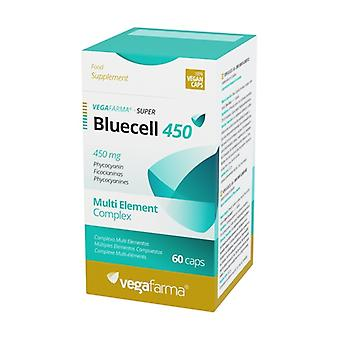 SuperBluecell 450 60 vegetable capsules