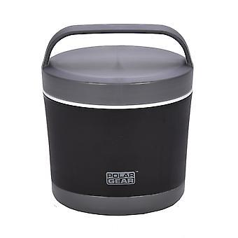 Polar Gear Lunch Bowl, 500ml Black Grey