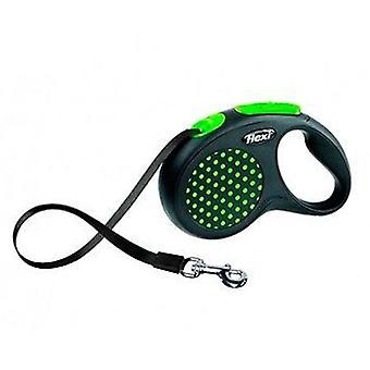 Flexi Correa Design Cinta Verde (Perros , Collares, correas y arneses , Correas)
