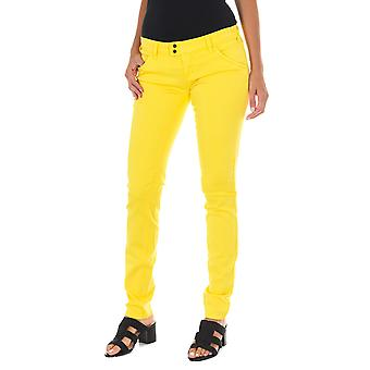MET pantalones de mujer X-K-Fit amarillo