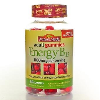 Nature Made Vitamin B12 Adult Gummies, 80 Tabs