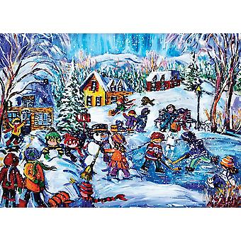 Eurographics Snow Day Jigsaw Puzzle (1000 pièces)