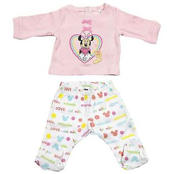 Set of clothes Minnie Mouse Baby Pink