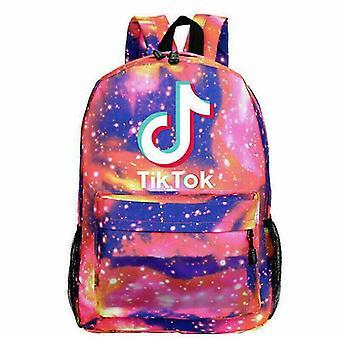 1Pcs Boys Girls Tik Tok School Backpack Shoulder Bag