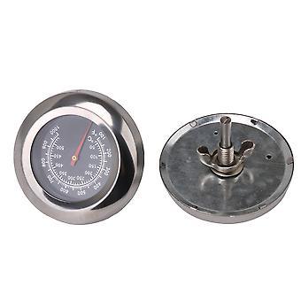 2x Thermomètre à fosse de barbecue M10 100-1000F 7.6cm Dia Mesure