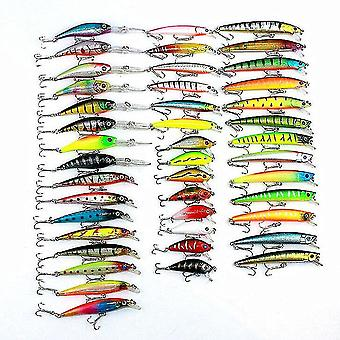 43PCS 320g Lures Minnow Fishing Lures Spinning River Sea Lakes Baits