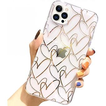 Iphone  12 Pro Max Clear Heart Case