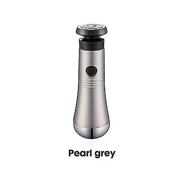 Rasoir portable Rechargeable Rasoir lavable (gris)