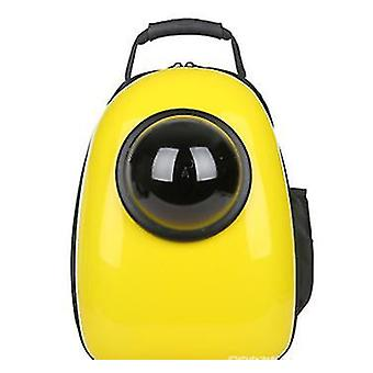 Breathable pet out portable backpack(Yellow)