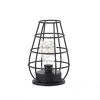 Retro Classic  Iron Art Led -table Lamp