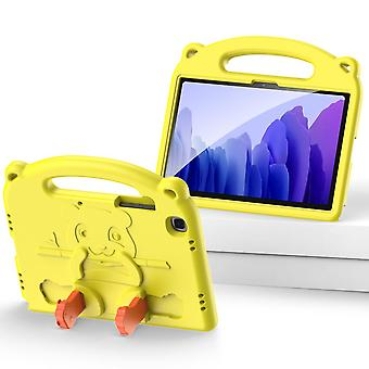 Case For Samsung Galaxy Tab A7 2020 10.4,shockproof Lightweight Convertible Handle Stand Protective Kids Child Cover - Yellow Panda