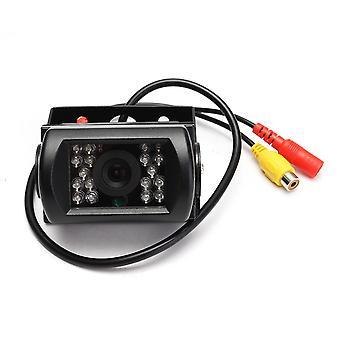 Waterdichte 12V-24V CCD 18-IR-LED's Nachtzicht Achteruitrijcamera voor autobus vrachtwagen trailer