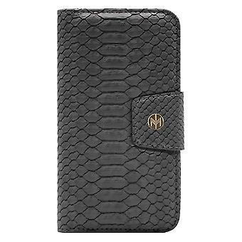 iPhone XR Marvêlle Magnetiskt Skal & Plånbok Askgrå