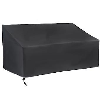 Outdoor furniture covers homemiyn outdoor bench covers anti-dust cover waterproof 190x66x89cm black