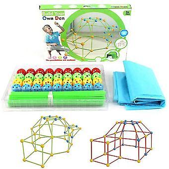 Binoculars 87pc kids' build your own den set
