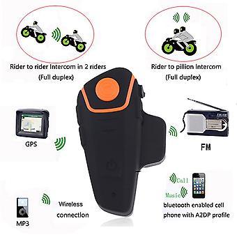 Bt-s2 1000m Waterproof Motorcycle Helmet Bluetooth Headset Motorbike Intercom