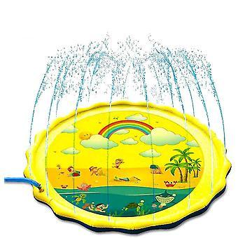 Sprinklermatte Kinder Wasser Spielzeuggarten 170cm WasserSpielmatte