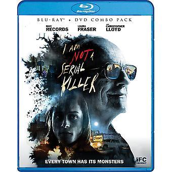 Jeg er ikke en seriemorder [Blu-ray] USA importere