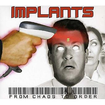 Implants - From Chaos to Order [CD] USA import