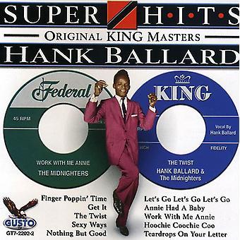 Hank Ballard - Super Hits [CD] USA import